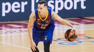 Thomas Heurtel dirige un ataque del Barcelona.