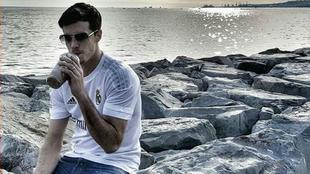 Thomas Heurtel en una foto de archivo con la camiseta del Real Madrid