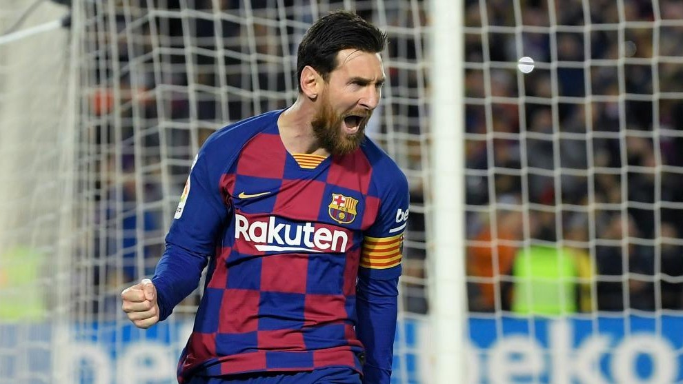 Getting used to Messi's greatness