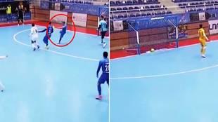 """El brutal gol en futsal que dará la vuelta al mundo: """"Nano...."""""""