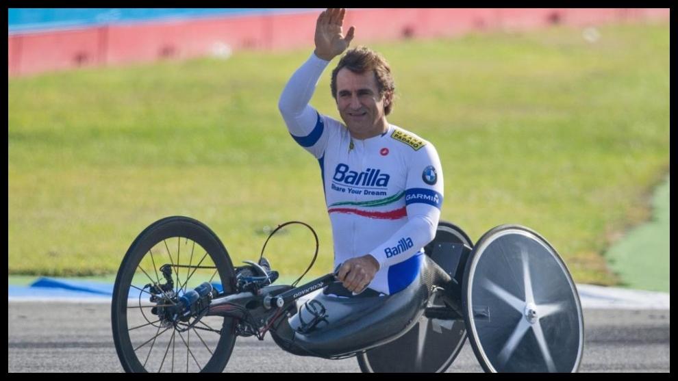 Alex Zanardi, piloto italiano de handbike