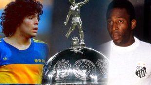Maradona, la Copa Libertadores y Pelé.