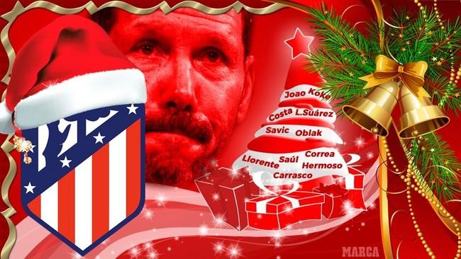 Una Navidad roja y blanca: las 10 razones para un Atlético campeón