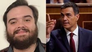 Ibai Llanos y Pedro Sánchez