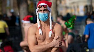 Un participante en la tradicional Copa Nadal.
