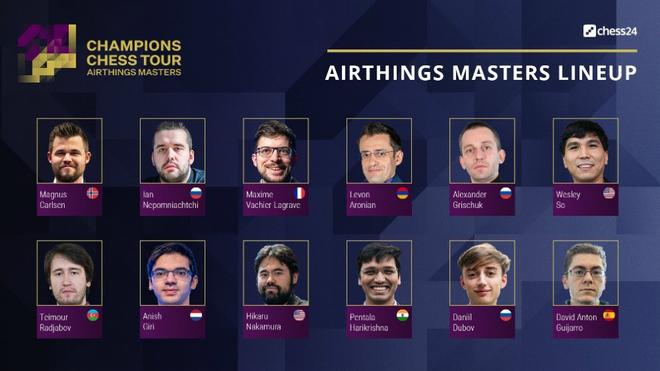Antón-So, primera ronda del Airthings Masters Online