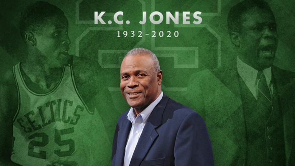 Murió K.C. Jones, leyenda de la NBA