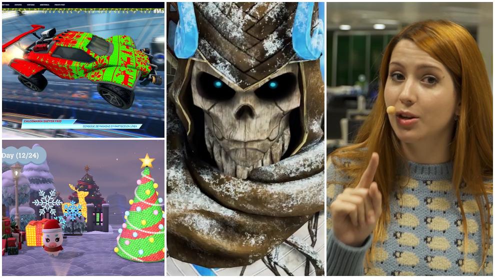 Los eventos navideños en videojuegos