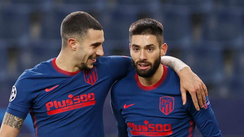 Simeone afina la banda izquierda del Atlético