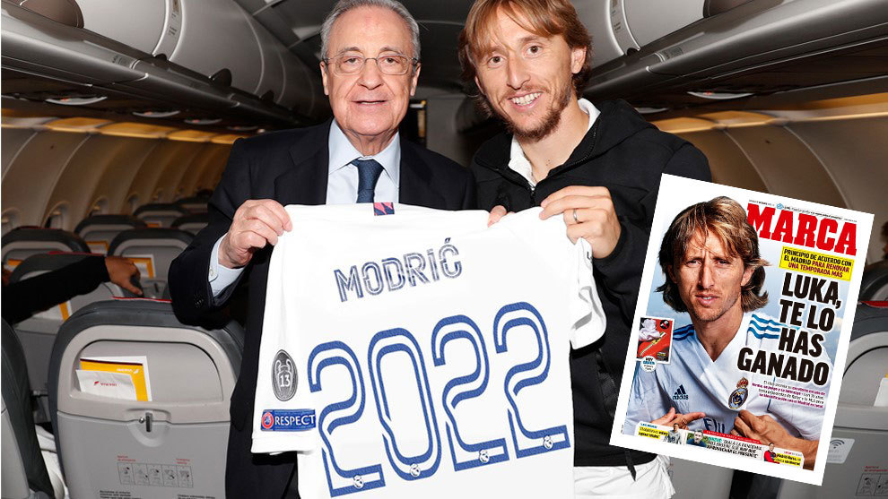 Luka Modric to sign new one-year deal at Real Madrid