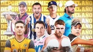 Reñida pelea por el mejor deportista mexicano de año.