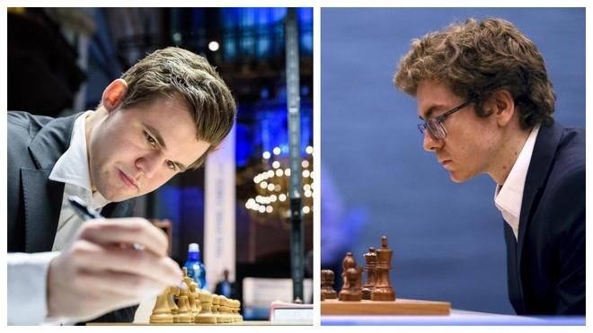 Carlsen y Antón.