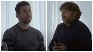 """Messi se queda, Messi no se queda"""