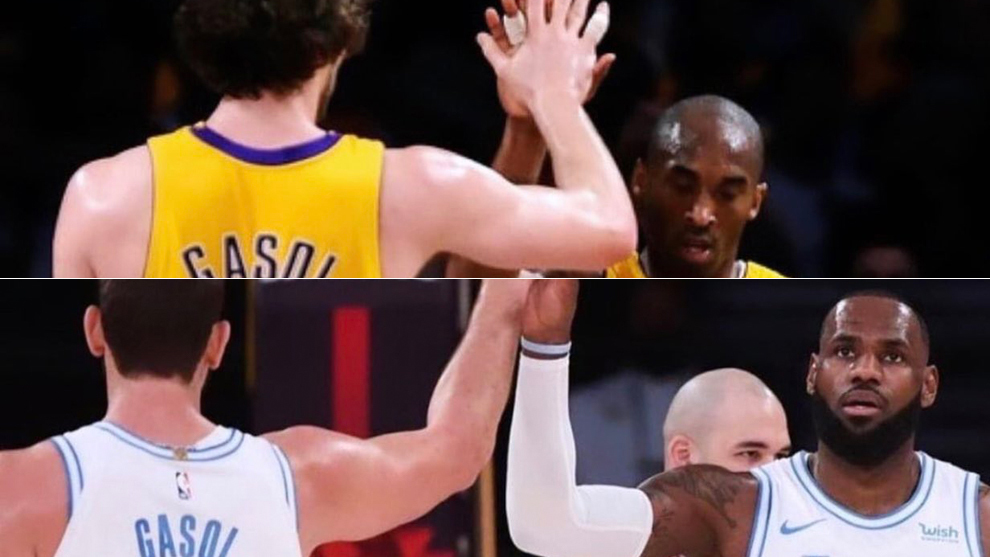 El emotivo recuerdo de LeBron James tras el partidazo de Marc Gasol y la comparación con Pau y Kobe Bryant