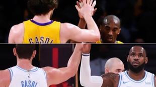 El piropo de LeBron a Marc Gasol tras su partidazo y la comparación con Pau y Kobe