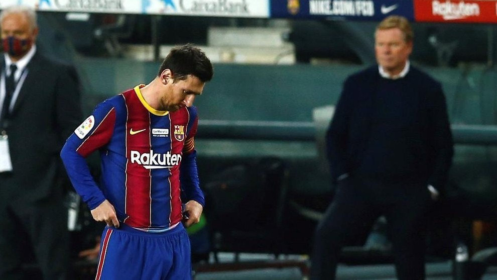 Barcelona run out of arguments to keep Messi