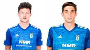 Borja Sánchez (izquierda) y Edgar González (derecha).