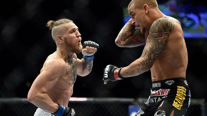 Primer combate entre Conor McGregor y Dustin Poirier en UFC.