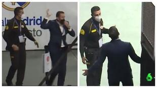La tremenda falta de respeto de Nacho Rodríguez con la seguridad privada del Wizink Center
