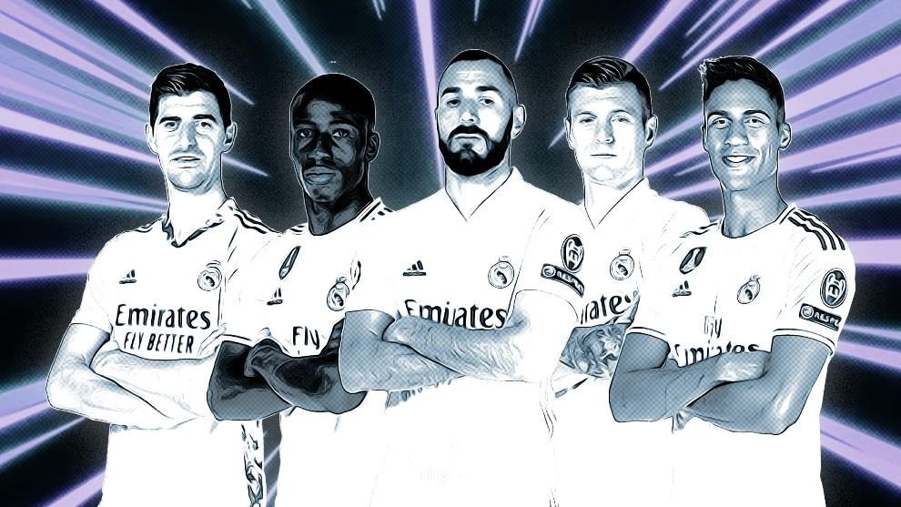 Los héroes de la gran racha del Real Madrid