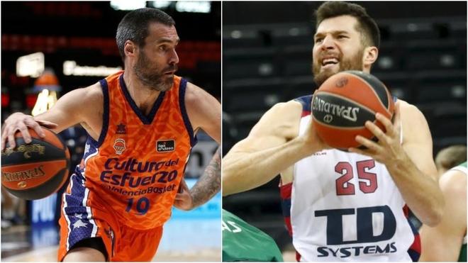 Baskonia - Valencia Basket: horario y dónde ver hoy en TV el partido...