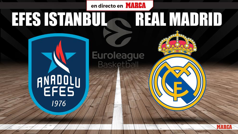 Anadolu Efes vs Real Madrid, en directo