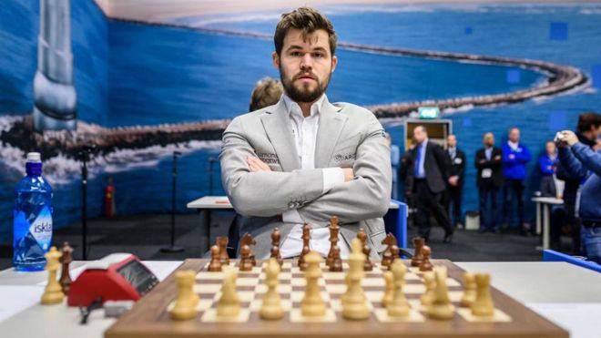 El jugador noruego Magnus Carlsen.