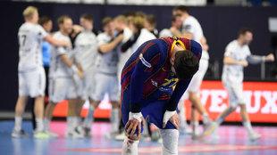 El Kiel rompe la magia del Barça y le deja sin décima Champions