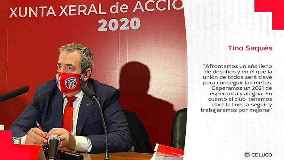 La Asamblea del Lugo, un paseo para Tino Saqués