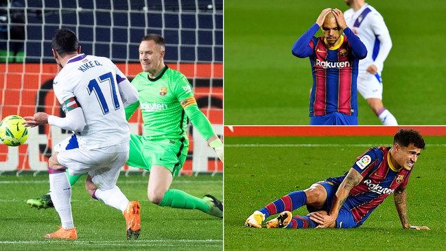Otro borrón de un Barça horrible