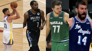 Primeras conclusiones al inicio NBA: unos favoritos, Doncic está solo, incierta pareja Lakers-Marc...