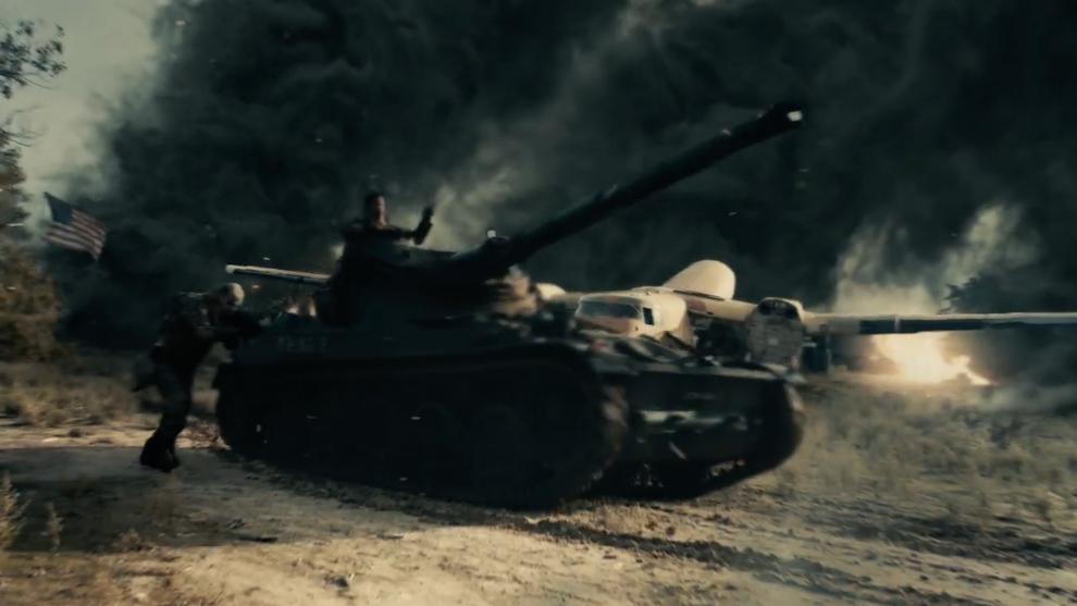 Escena del tanque en Rewind Hispano 2020