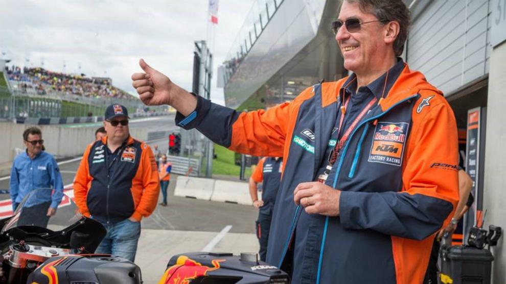 Stefan Pierer, CEO de KTM.