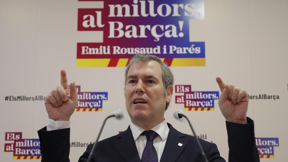 Rousaud has a pre-agreement to sign Haaland if he wins Barcelona's elections