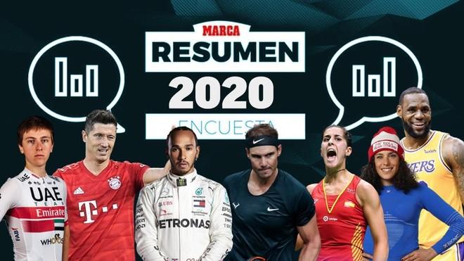 ¿Quiénes son para ti los mejores deportistas y equipos de 2020?