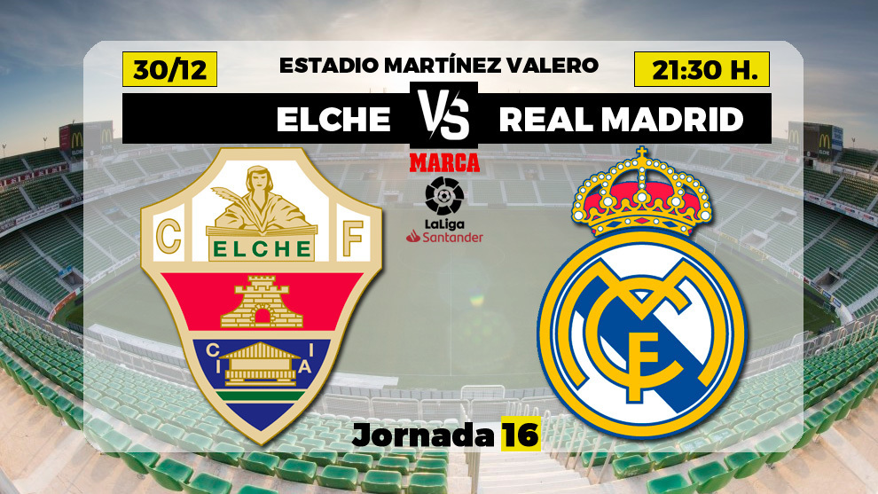 Elche vs Real Madrid Full Match – La Liga 2020/21