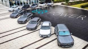 El despliegue de tecnología híbrida de Mercedes-Benz.