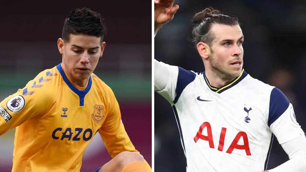 James y Bale, con bajo rendimiento en la Premier League