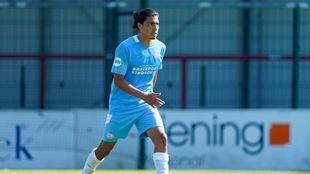 Erick Gutiérrez ya entrena al parejo de sus compañeros en el PSV.