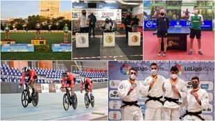 Los deportistas paralímpicos han brillado en campeonatos absolutos.