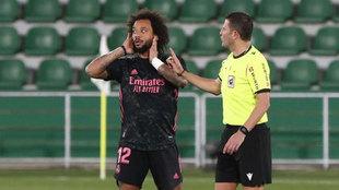 El Madrid tiene un problema con Marcelo