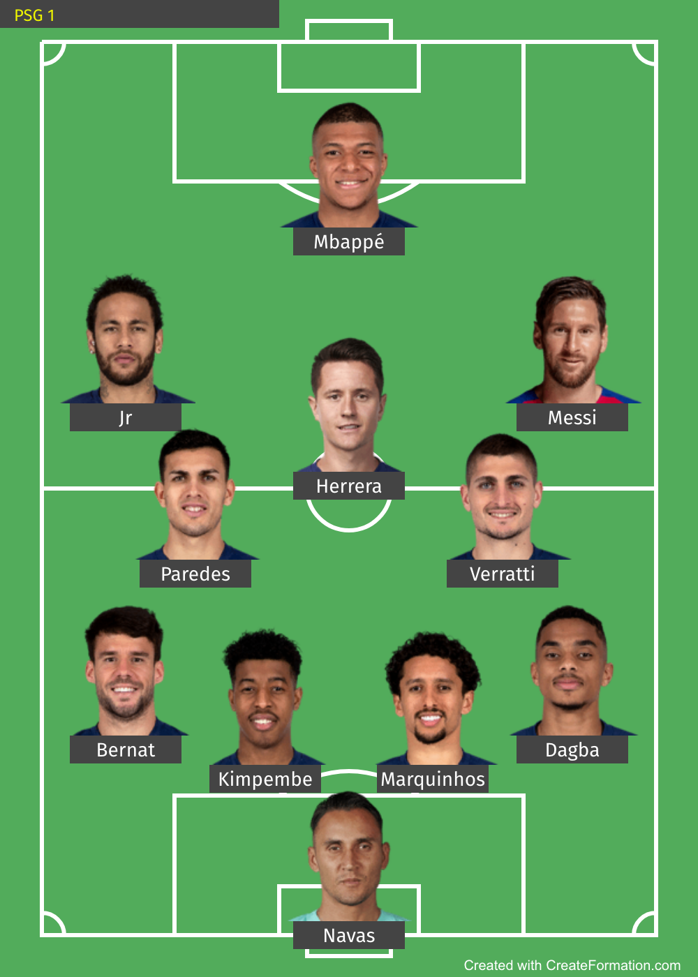 Barcelona Transfer Market How Psg Could Line Up With Messi Marca