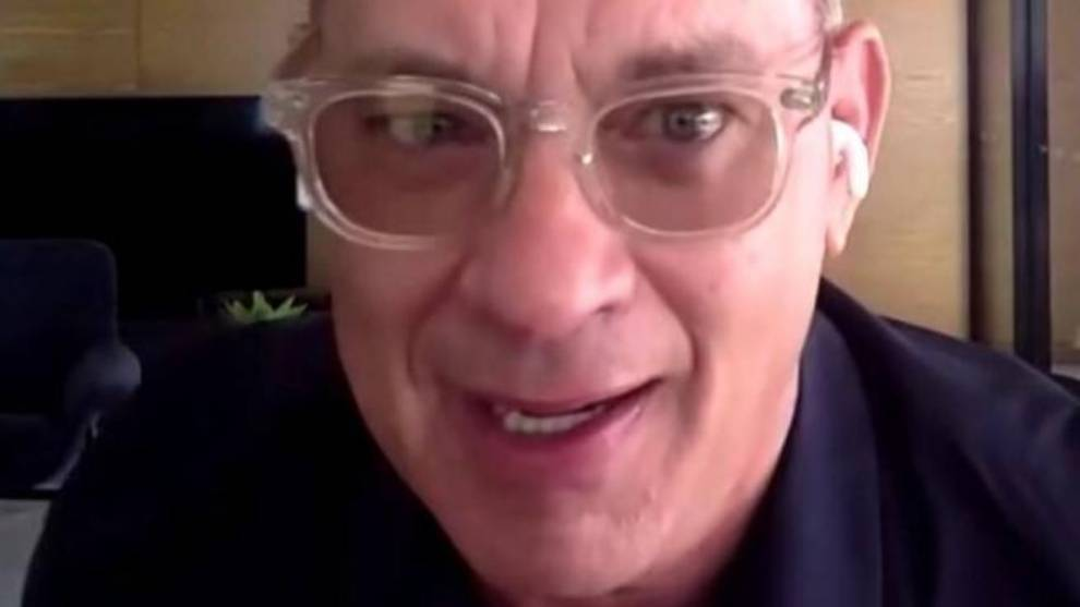 Tom Hanks dislikes new haircut in upcoming Elvis Presley biopic