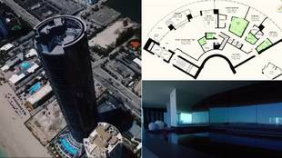 Así es la lujosa casa de Messi en la 'Torre Porsche' en Miami... de 9 millones de euros