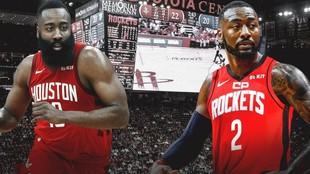 James Harden y John Wall empiezan a carburar en los Rockets.