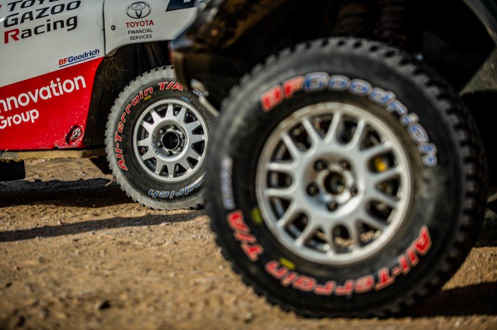 Los neumáticos serán un factor clave en la etapa maratón.