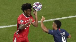 Coman cabecea el gol decisivo de la final de la Champions