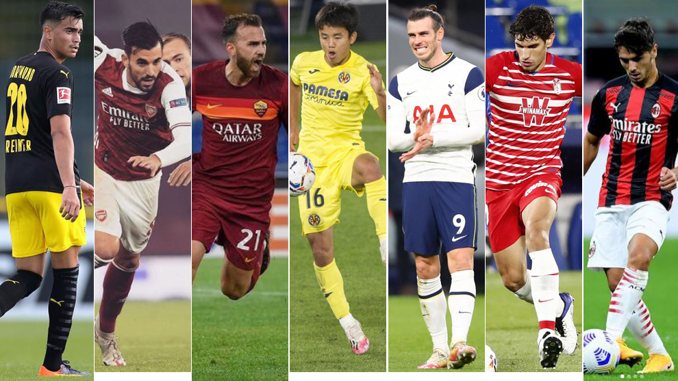 Reinier, Ceballos, Mayoral, Kubo, Bale, Vallejo and Brahim