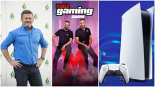 Miki Nadal y el sorteo de la PlayStation 5 en MARCA Gaming Show
