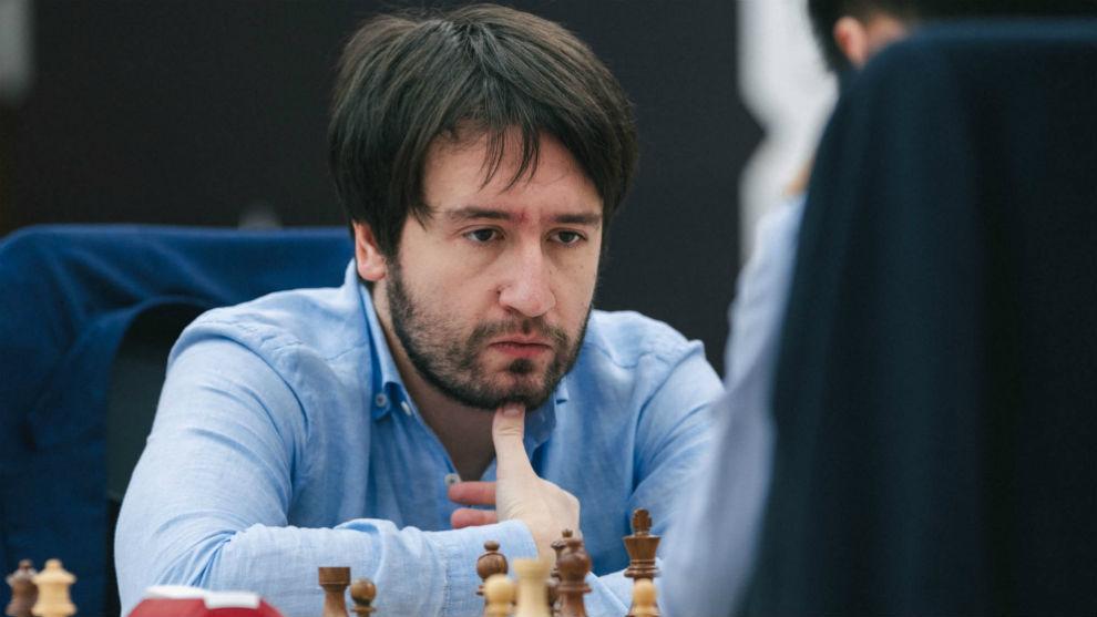 El azerí Teymur Radjabov, en un torneo.